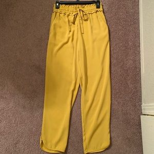 Mustard Yellow Zara Pangs